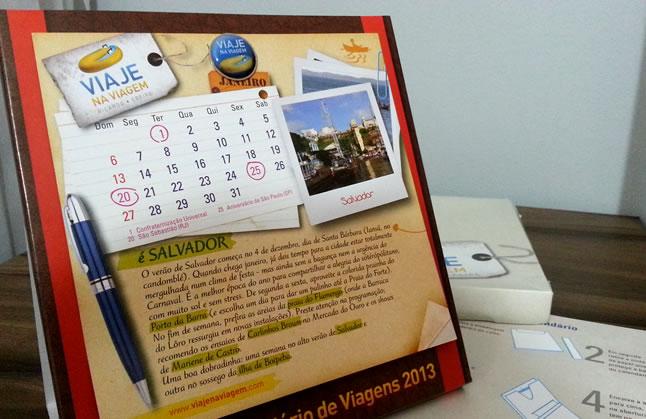 Calendário de Viagens 2013 do Viaje na Viagem (http://www.viajenaviagem.com/) | Foto: Alexandre Lima